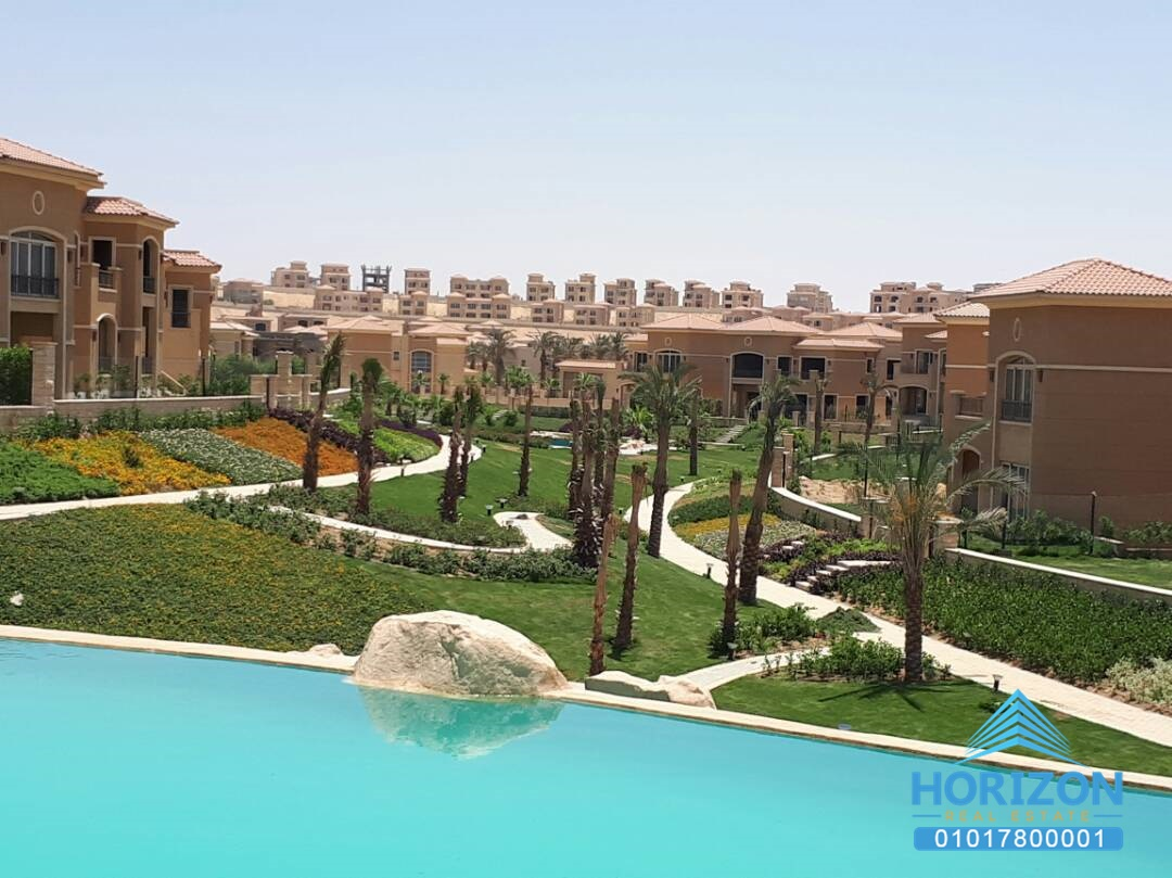 Apartment 175 m in stone residence new cairo horizon estate for Bureau 175 new cairo